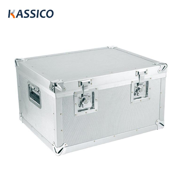 Organizador de ferramenta de caso difícil de alumínio, caso de armazenamento de equipamento