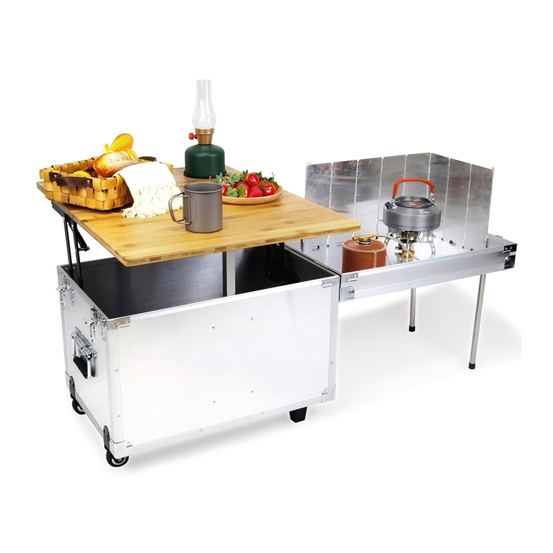 Portable Mobile Kitchen | Folding Table For Camping & Overland
