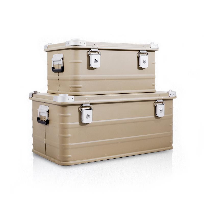 Estojos de alumínio para caixa externa de alumínio