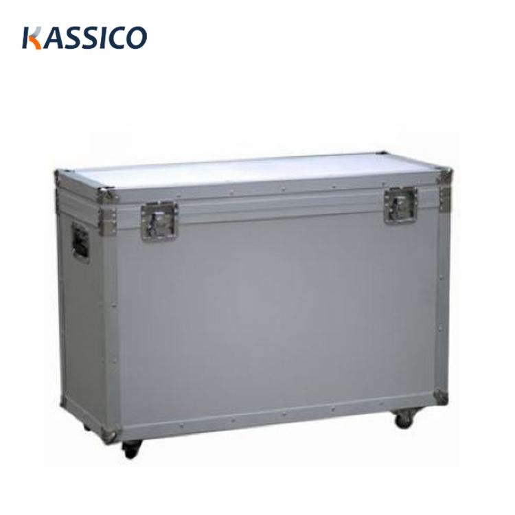 LCD TV LED Equipment Shockproof Aluminum Flight Case