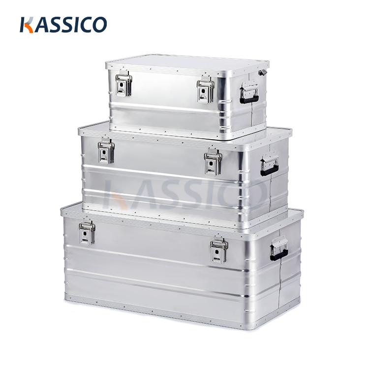 Aluminium Storage & Shipping Boxes - Ecomomic A series