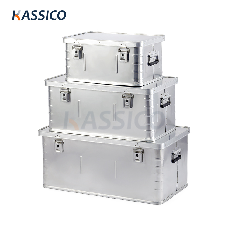 Aluminum Storage Boxes, Shipping Container B Series