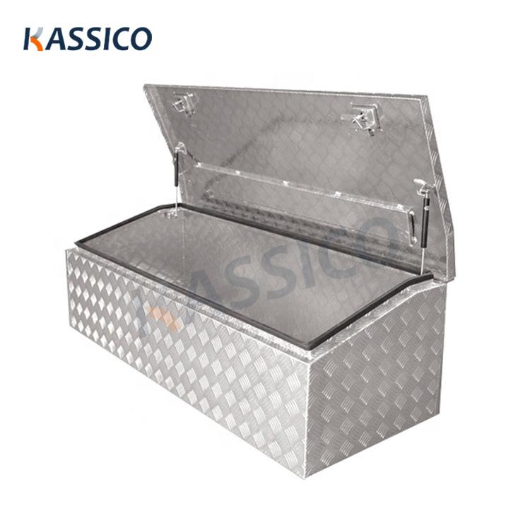 Boîtes à outils de stockage de camions utilitaires en aluminium