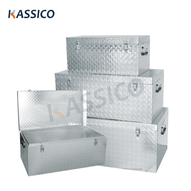 Aluminum Tool Storage Transport Boxes