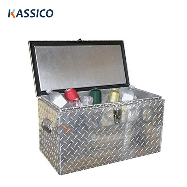 48QT Heavy Duty Aluminium Cooler Boxes, Ice Chest