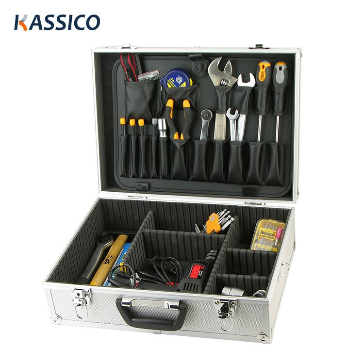 Алюминиевый чемодан для инструментов с пеной