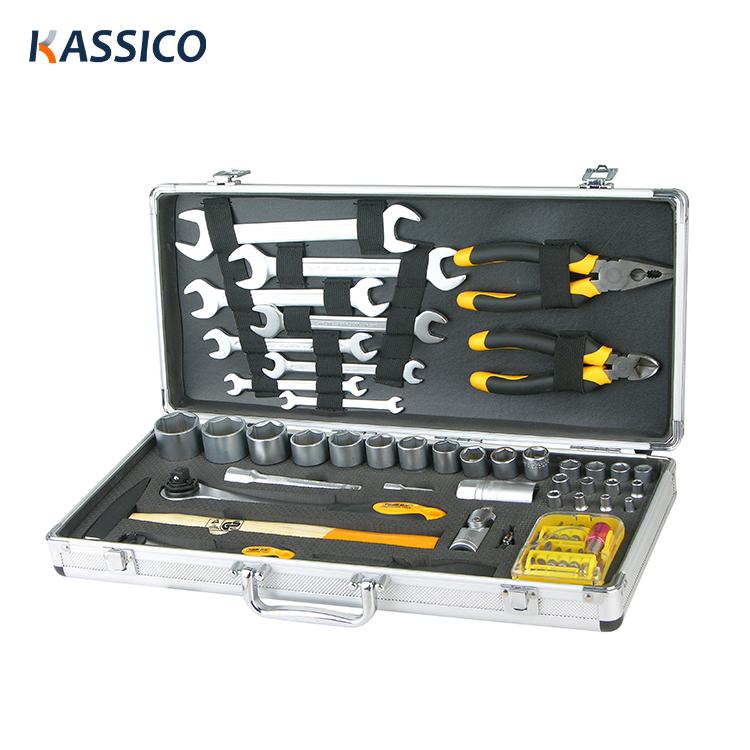 Mallette de rangement pour outils en aluminium