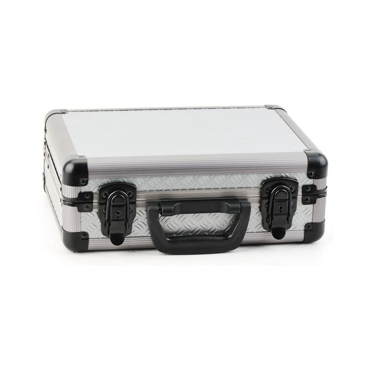Egendefinert aluminium innrammet håndvåpenetui med skum