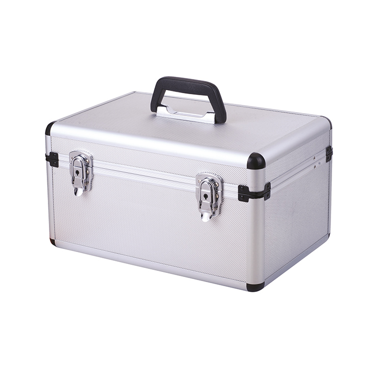 Hard Aluminum Short Gun Carrying Case