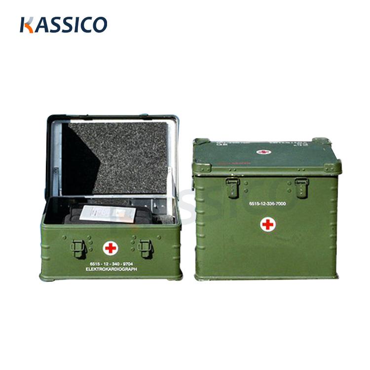 Boîtes en aluminium pour intervention d'urgence dans les hôpitaux mobiles
