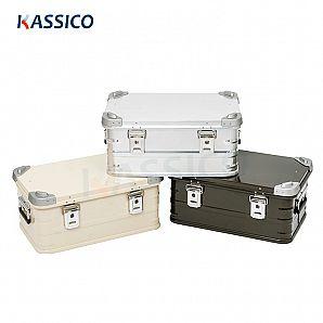 Aluminium lasteboks, organisator av koffertstamme