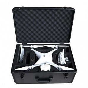 Aluminium Case for DJI Phantom Drone with Foam