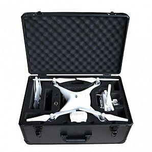 Aluminiumsveske til DJI Phantom Drone med skum