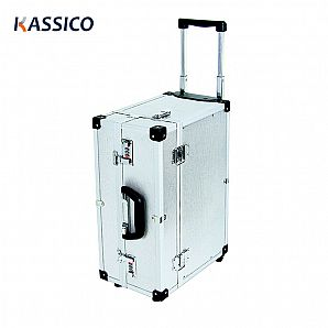 Aluminum Trolley Equipment Tool Case With Wheels