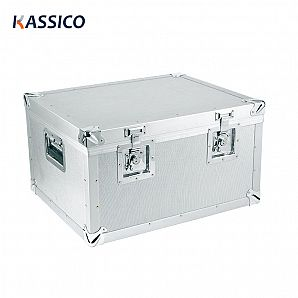Aluminum hard case tool organizer, equipment storage case