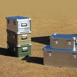 Campingutstyr Oppbevaringsboks Aluminiumsbeholdere