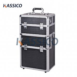 Aluminum Trolley Makeup Case, Beauty Case
