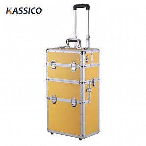Custom Aluminum Trolley Cosmetic Cases Packaging