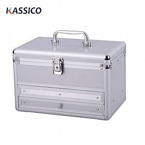 Portable Aluminum Makeup Vanity Cosmetic Cases