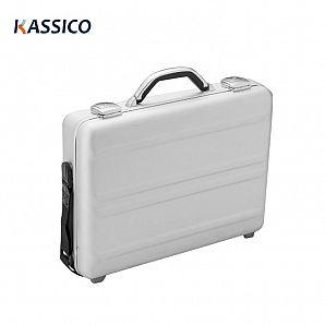 Aluminium koffert-bilagsdeksel for lagring av bærbare datamaskiner og forretninger
