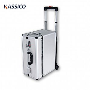 Aluminum Trolley Travel Carrying Tool Case with Wheels
