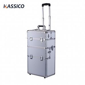 Customzied Aluminum Draw-bar Tool Case with Trolley