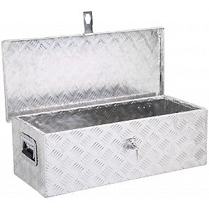 30' Aluminum Pickup Truck Bed Tool Box