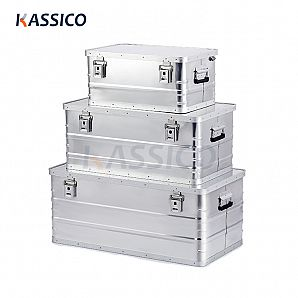 Aluminum Storage & Shipping Boxes - Ecomomic A series