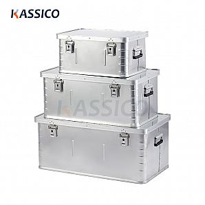 Aluminum Instrument Equipment Boxes for Transport - Basic B Series
