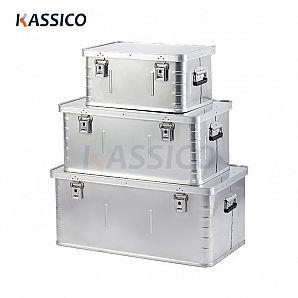 Oppbevaringsbokser i aluminium, fraktbeholder B-serie