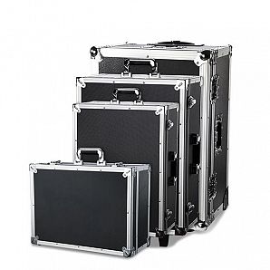 Hard Trolley Aluminum Flight Case With Foam