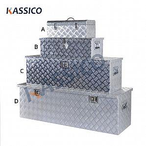 Cassette degli attrezzi in alluminio per camion e cassette degli attrezzi in metallo