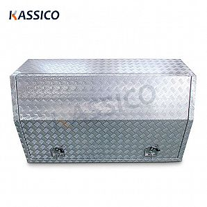 Aluminum Truck Tool Boxes for Pickup with Shelf Side Open