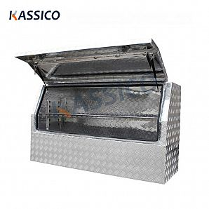 1450mm Aluminum Truck Tool Box for UTE 3/4 Opening
