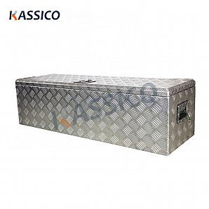 Aluminum Tool Box for Truck Single Lid Top Open