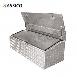Cassette degli attrezzi in alluminio per camion