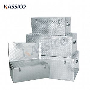 Aluminum Tool Storage Transport Boxes