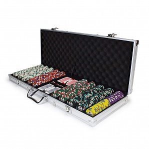 Custom Aluminum Poker Chip Case with Foam