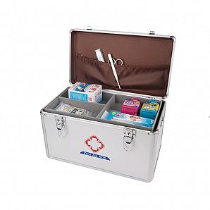 Aluminum First Aid Case, Aluminum Medical Storage Box