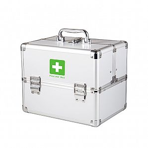 10 Inch Aluminum First Aid Case Emergency Case