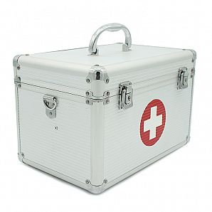 Aluminum Medical Storage Box, Medicine Carry Case