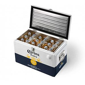20L Metal Beer Cooler Chest - Beverage Ice Bucket