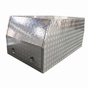Cassette degli attrezzi per baldacchino in alluminio Ute