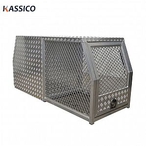 Aluminum UTE Dog Cage Box