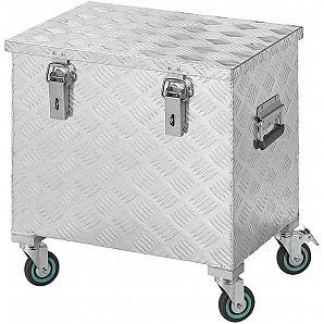 2mm Aluminium Trolley Werkzeugkasten mit Rädern