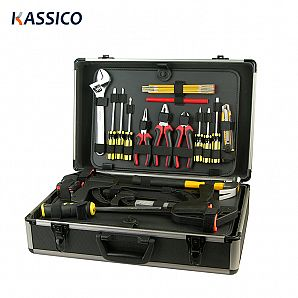 Customized Black Aluminum Tool Carrying Cases