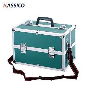 Aluminum Tool Box with Cantilever Tray