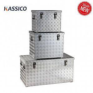 Aluminium-Aufbewahrungsboxen, Alu-Werkzeugkästen