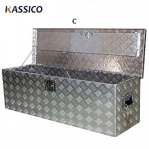 Heavy Duty Aluminum Boxes for ATV Camper Trailer