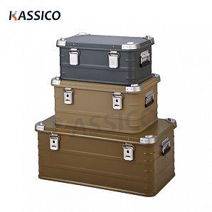 Takstativ til bil AluBox, koffertbokser i aluminium